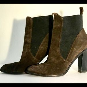 Via Spiga - NEW Brown Suede Ankle Booties